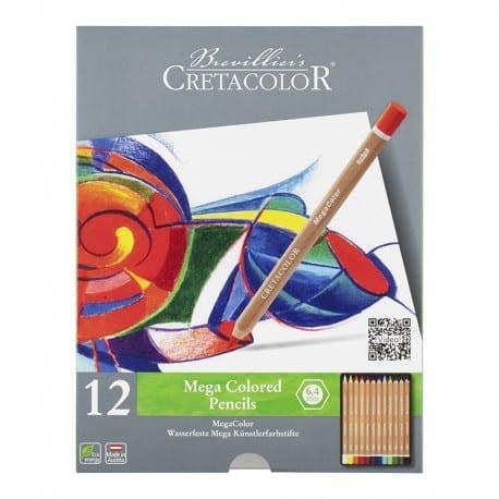 Cretacolor matite Megacolor