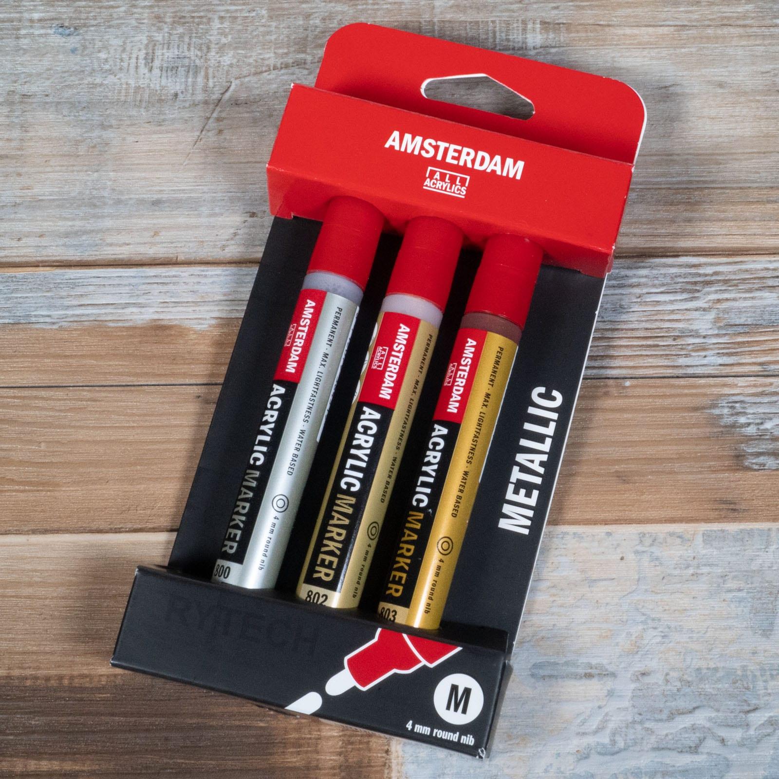 Acrilico Amsterdam Marker 3-4mm
