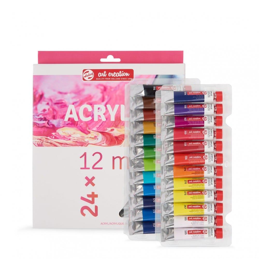Set di colori acrilici