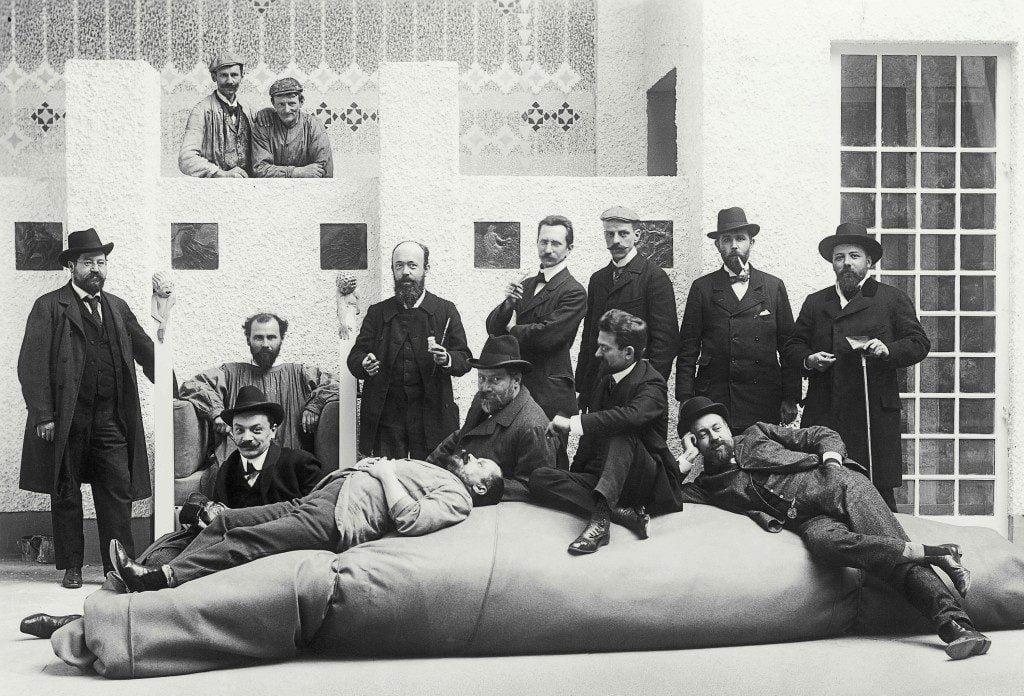 Secessione vienesse con Klimt.