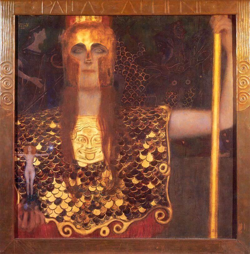 Dipinto Pallade Atena.